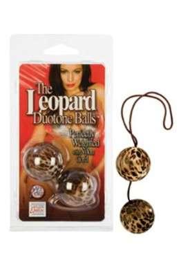 Вагинальные шарики The Leopard Duotone Balls