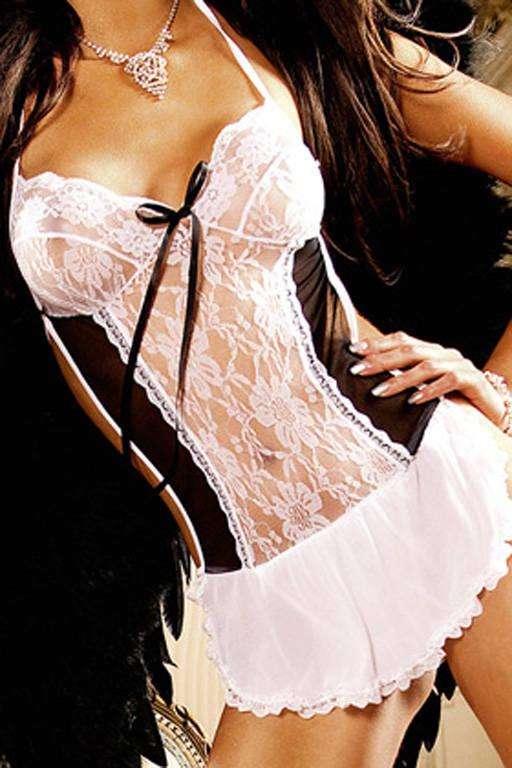 Angel Мини-платье
