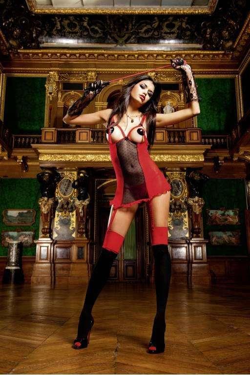 Devil Мини-платье