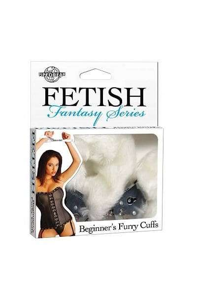 Наручники с мехом FF Beginner's Furry Cuffs-White