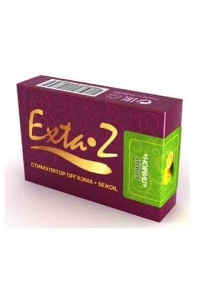 Стимулятор оргазма Интимное масло Exta-Z Лимон