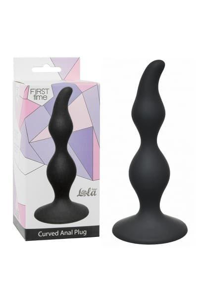 Анальная пробка Curved Anal Plug Black