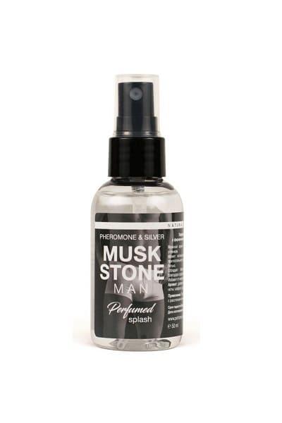 Спрей с феромонами и ионами серебра Musk Stone для мужчин