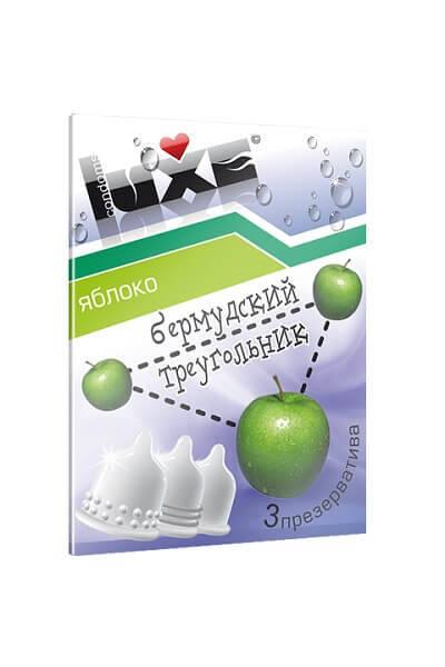 Презервативы Luxe Бермудский треугольник Яблоко