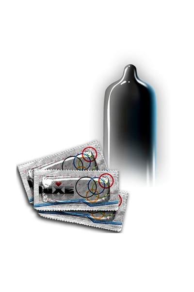 Презервативы Luxe Черный плащ