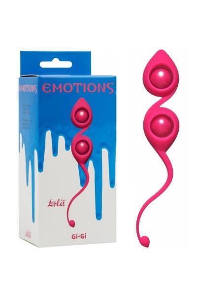 Вагинальные шарики Emotions Gi-Gi Розовые