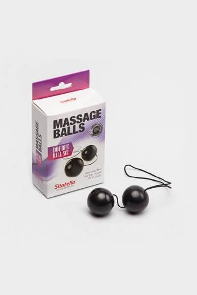 Вагинальные шарики чёрные