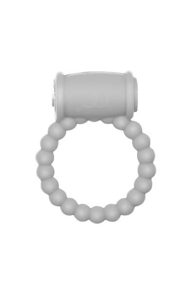 Эрекционное виброкольцо Rings Drums white