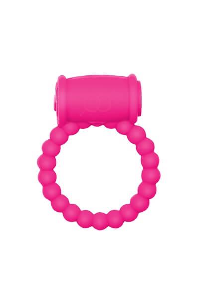 Эрекционное виброкольцо Rings Drums pink