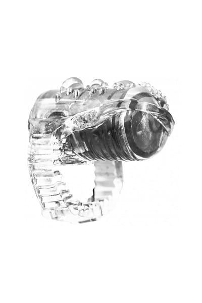 Насадка на язык с вибрацией Rings Teaser
