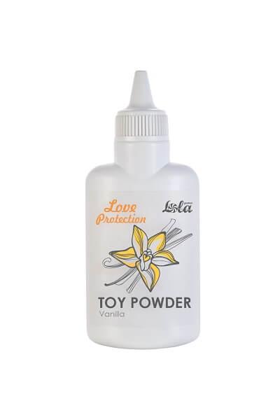 Пудра для игрушек ароматизированная Ваниль